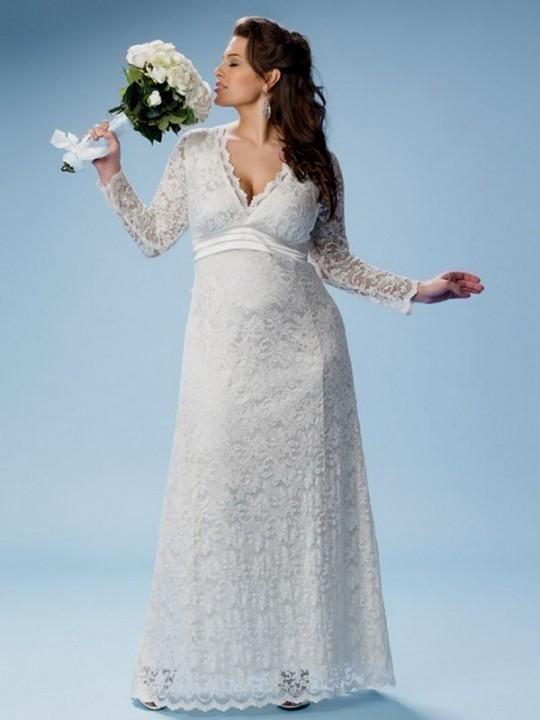 765a6d7e4ab long white lace dress plus size looks