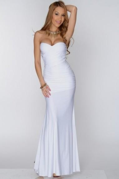 Long Strapless Maxi Dresses