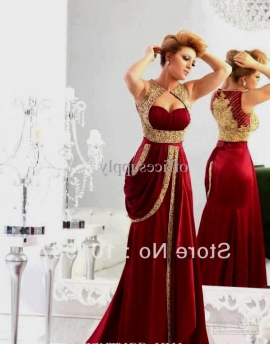 Maroon Mermaid Prom Dress - Missy Dress