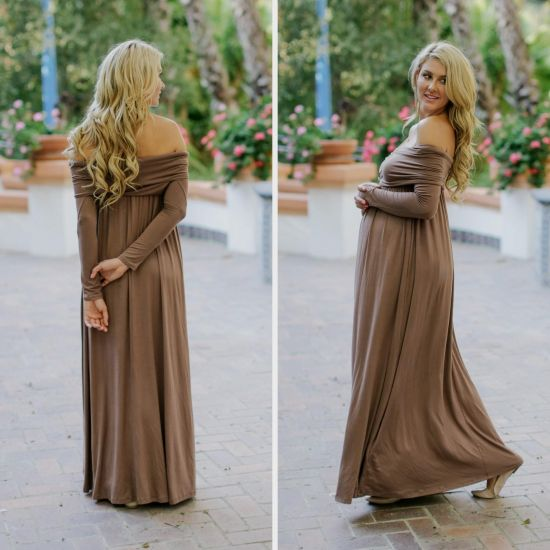 you can share these maternity dresses for baby shower on facebook