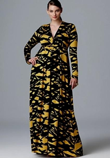 turmec » plus size long sleeve maxi dress