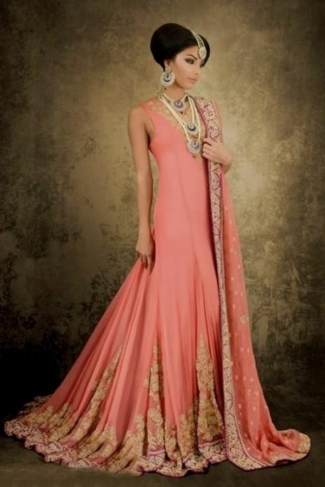 Maxi dresses with sleeves pakistani 2016-2017 » B2B Fashion
