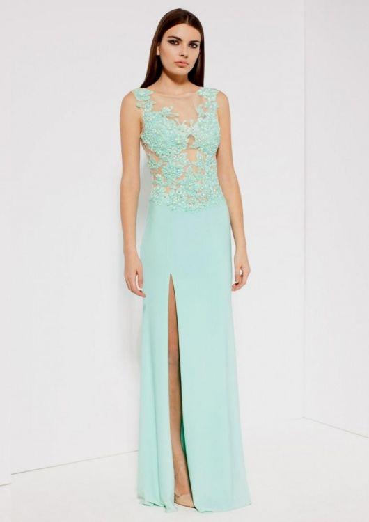 Mint Green Maxi Dress Forever 21 - Missy Dress