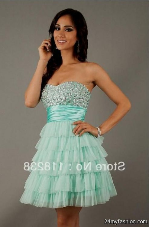 mint quinceanera dresses for damas 2016-2017 » B2B Fashion