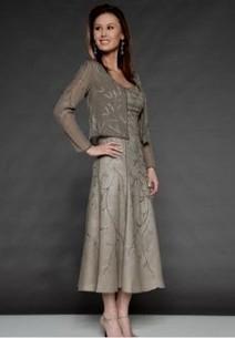 mother of the bride dresses tea length dillards 2016-2017