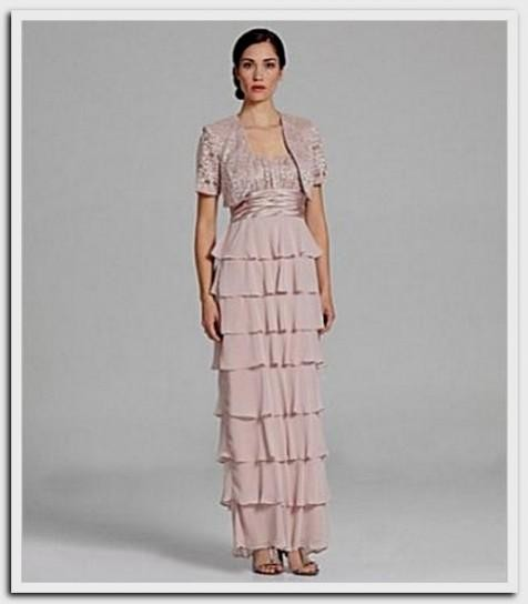 Mother Of The Bride Dresses Tea Length Dillards Looks B2b Fashion