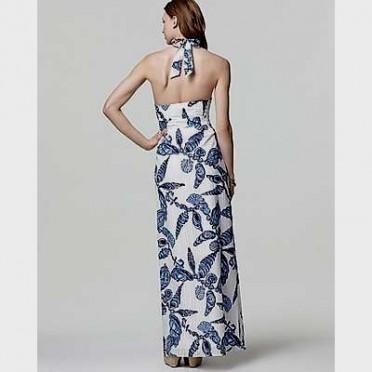 nautical halter maxi dress 2016-2017 » B2B Fashion