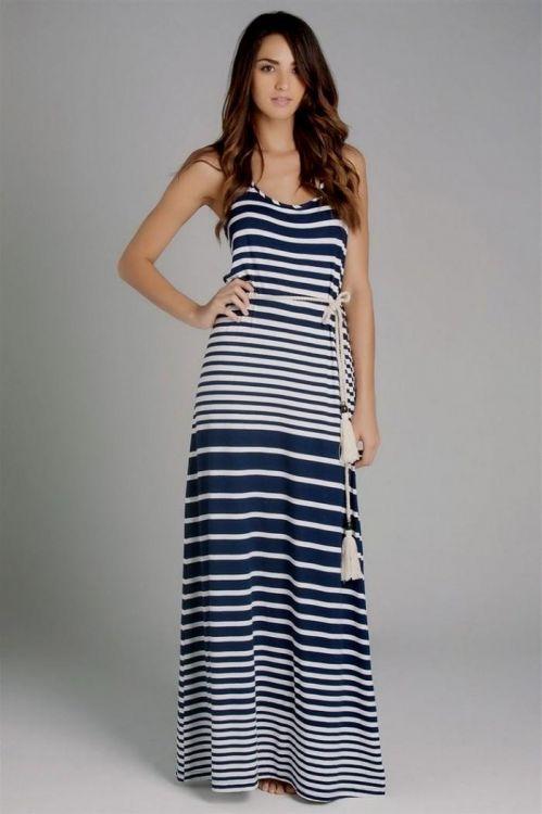 nautical maxi dress maternity 2016-2017 » B2B Fashion