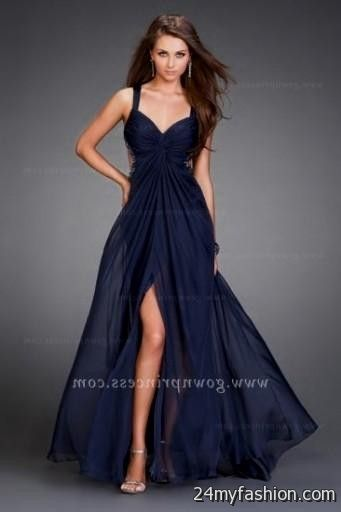 Navy Blue Party Dresses Juniors Prom Dresses Vicky