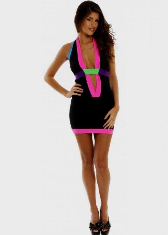 neon party dresses looks  b2b fashion