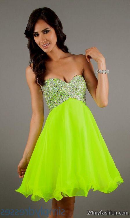 neon party dresses for juniors 2016-2017 | B2B Fashion