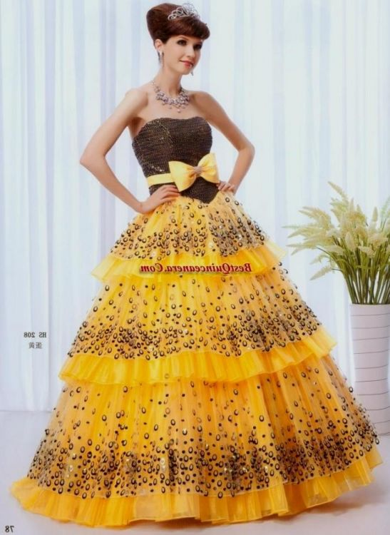Neon Yellow Prom Dresses 7