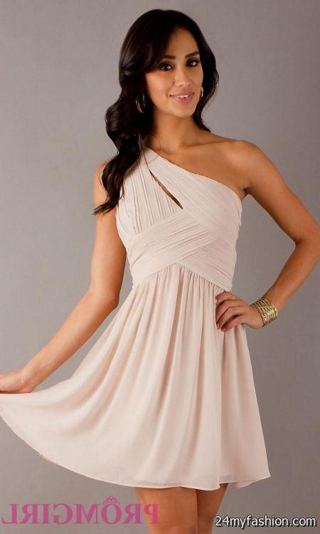 one shoulder short prom dresses perfect 2016-2017 | B2B Fashion
