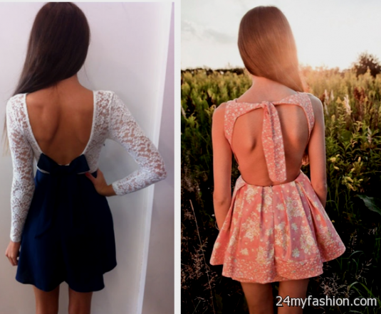 open back casual summer dresses 2016-2017 » B2B Fashion