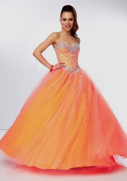 Orange Prom Dresses Plus Size 2016 2017 B2b Fashion