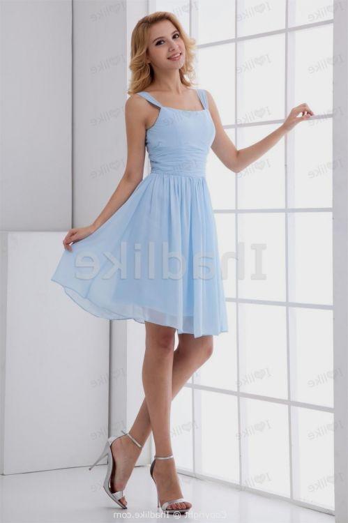 pale blue bridesmaid dresses with sleeves 2016-2017 | B2B ...