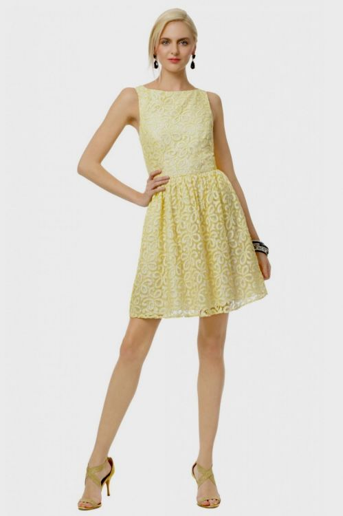 Pale yellow dress images