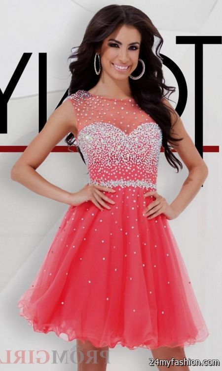 pink 8th grade graduation dresses 2016-2017 » B2B Fashion