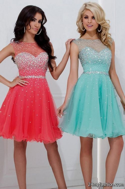 cd78c7d2ea6 pink 8th grade graduation dresses looks