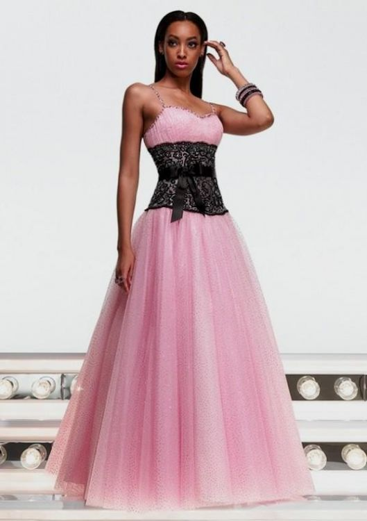 Emejing Pink And Black Prom Dresses Contemporary - Beauty Styles ...