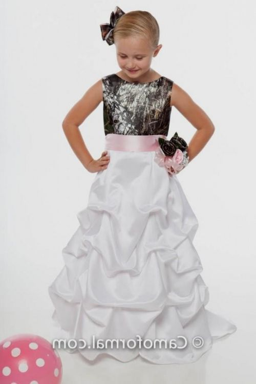 Pink camo flower girl dresses 2016 2017 b2b fashion you can share these pink camo flower girl dresses on facebook stumble upon my space linked in google plus twitter and on all social networking sites mightylinksfo