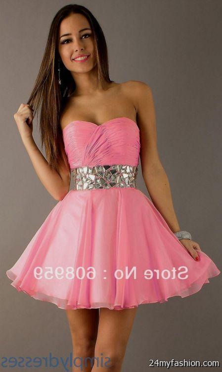 Pink Graduation Dresses For 8th Grade Looks B2b Fashion