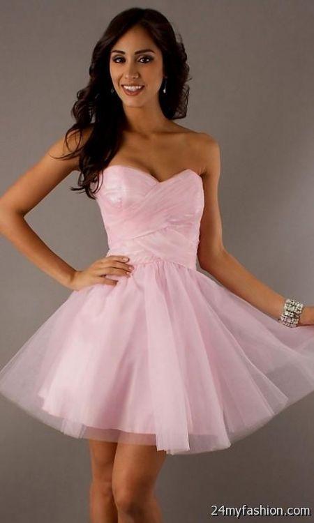 Hot Pink Homecoming Dresses 2018 118
