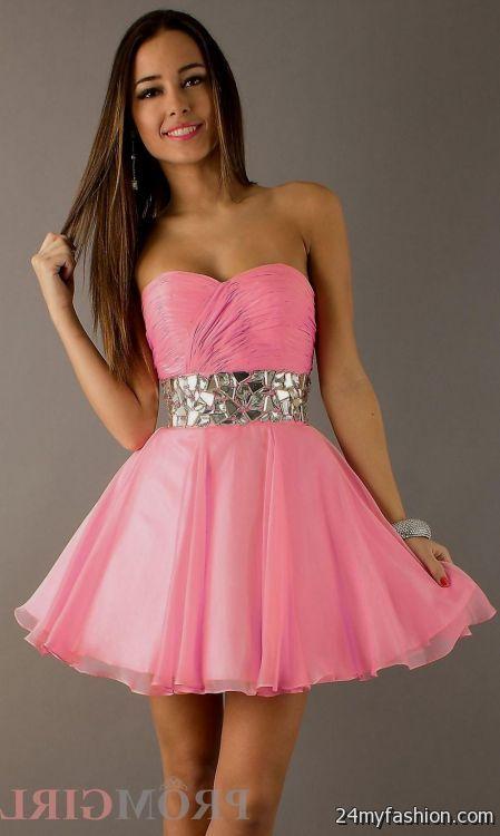 pink party dresses 2016-2017 | B2B Fashion