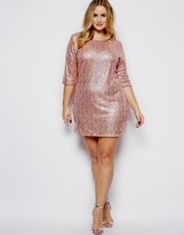 Size Dresses With Sequins