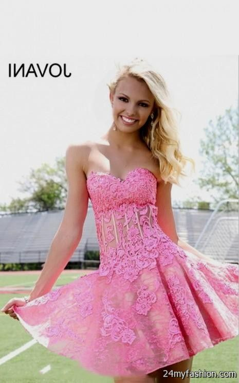 pink short prom dresses perfect 2016-2017   B2B Fashion