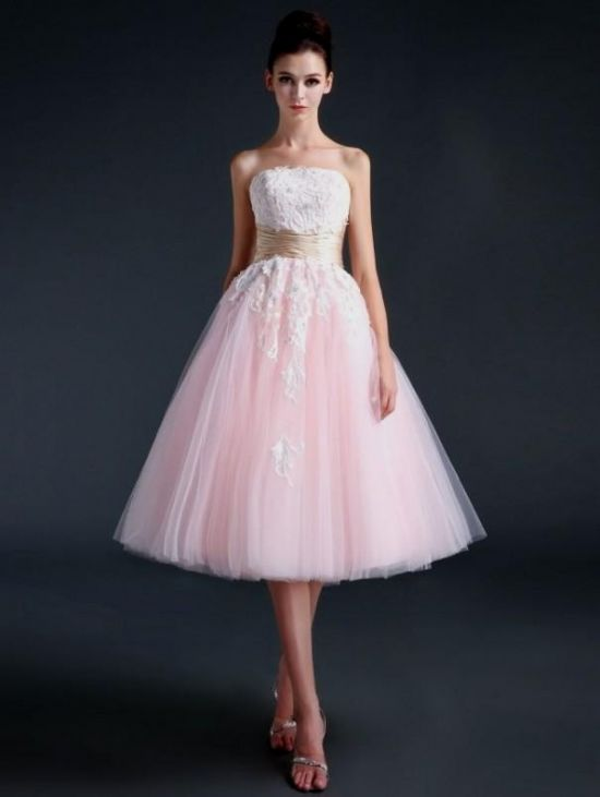 Prom Dresses Tea Length Eligent Prom Dresses
