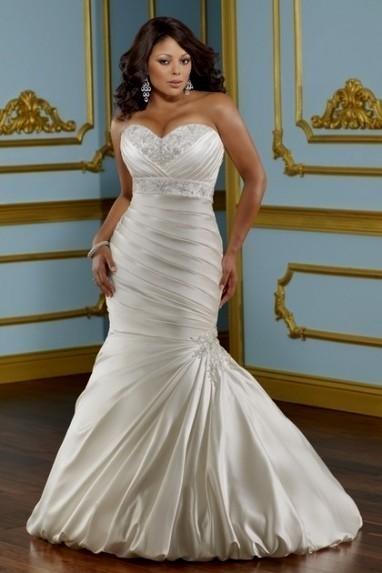 Plus Size Beach Wedding Dresses Looks B2b Fashion