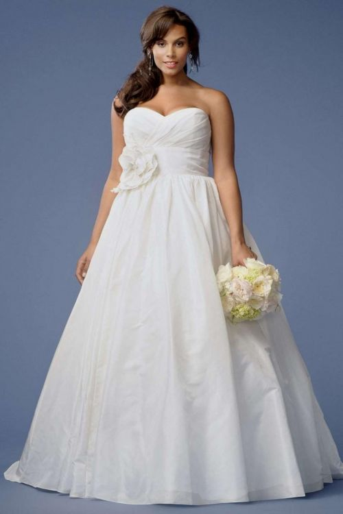 Plus size beach wedding dresses 2016 2017 b2b fashion for Beach plus size wedding dresses