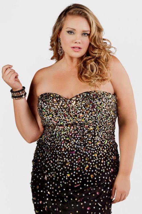 Black And Gold Plus Size Formal Dresses Vinnyoleo Vegetalinfo