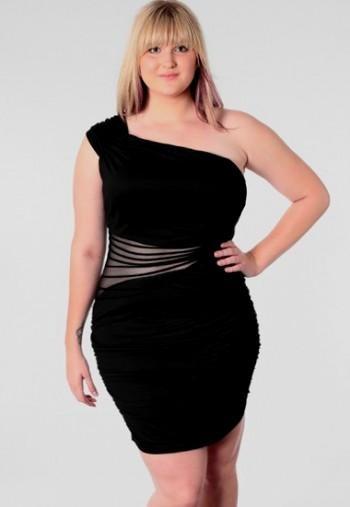 Plus Size Black Party Dresses 2016 2017 B2b Fashion