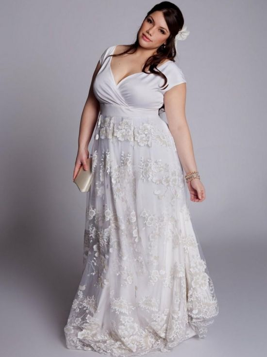 plus size casual beach wedding dresses looks | B2B Fashion