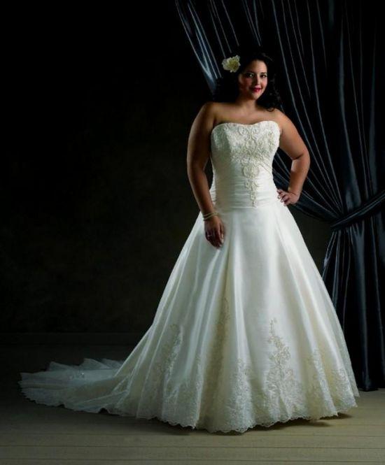 Plus Size Gothic Wedding Dresses 2016 2017: Plus Size Cinderella Wedding Dresses 2016-2017