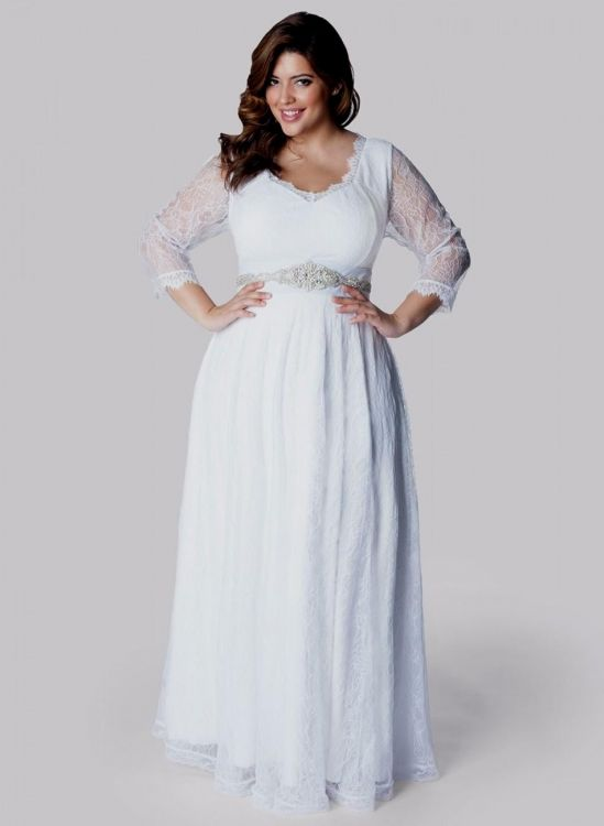 Plus size country wedding dresses 2016 2017 b2b fashion for Plus size long sleeve wedding dresses