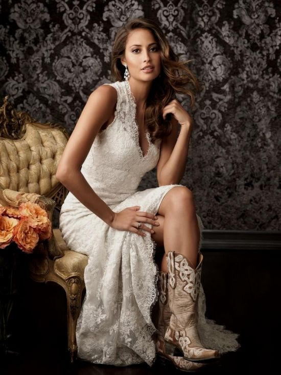 Plus size country western wedding dresses 2016 2017 b2b for Country western wedding dresses