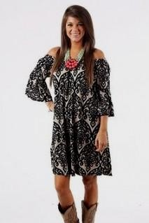 plus size dresses to wear with cowboy boots looks