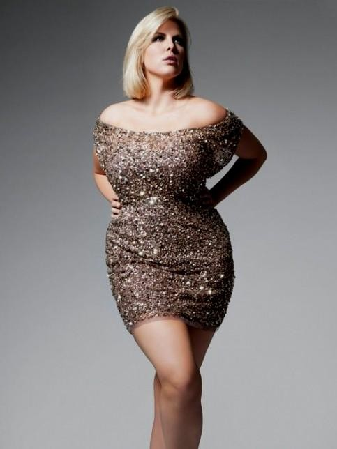 Plus size gold sequin dress 2016-2017 » B2B Fashion