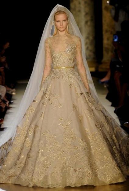 Plus Size Gold Wedding Dresses 2016 2017 B2b Fashion