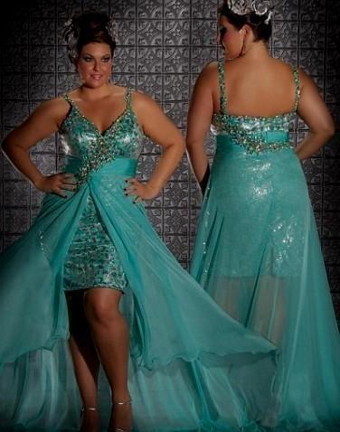 Plus Size High Low Party Dresses Fashion Dresses