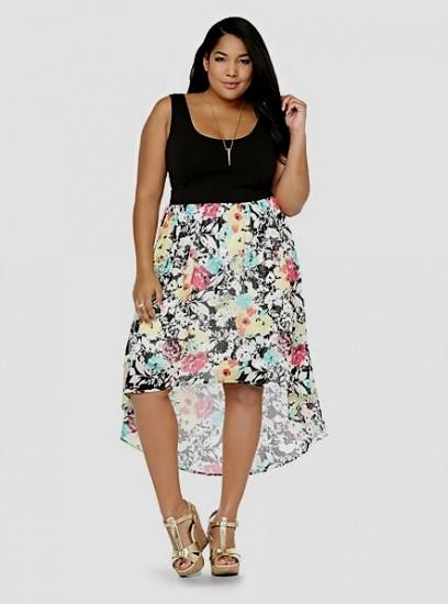 High Low Summer Dresses Plus Size - Gowns and Dress Ideas