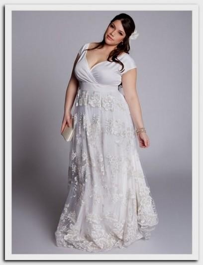 plus size hippie wedding dresses looks | B2B Fashion