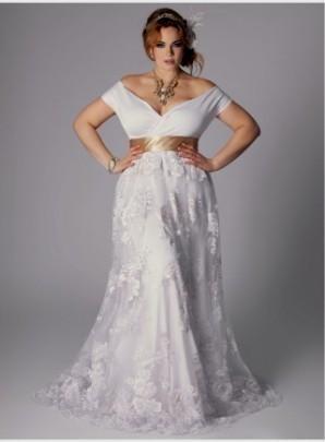 Plus Size Hippie Wedding Dresses