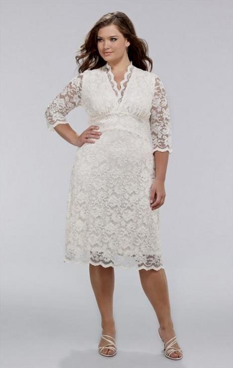 plus size ivory dress looks | B2B Fashion