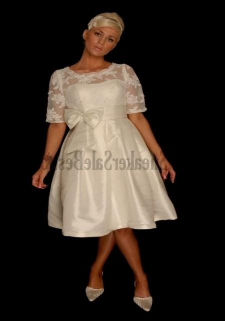 Plus size dresses knee length eligent prom dresses for Plus size wedding dresses austin tx