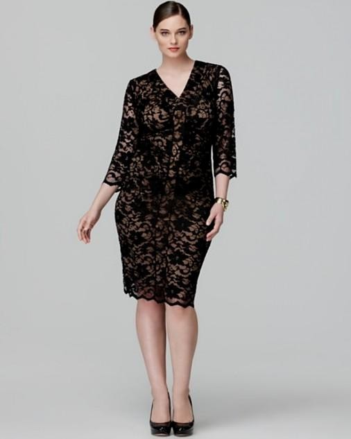 Plus Size Lace Dress 2016 2017 B2b Fashion