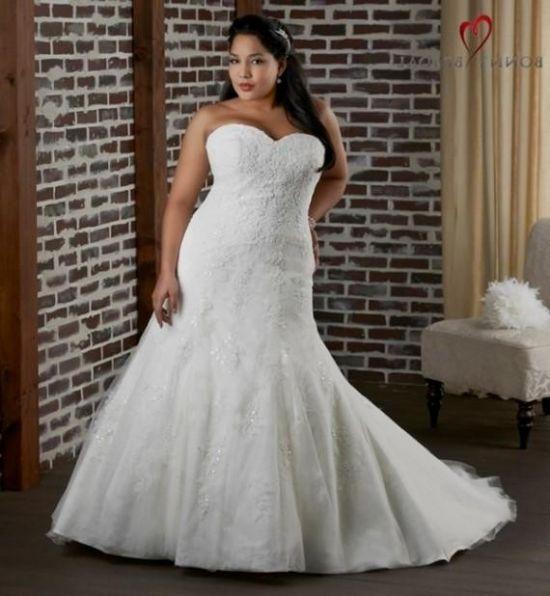 Plus size lace mermaid wedding dresses 2016 2017 b2b fashion for Size 24 dresses for wedding